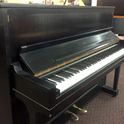 Used Steinway 1098 1966 Ebony Satin Upright Piano