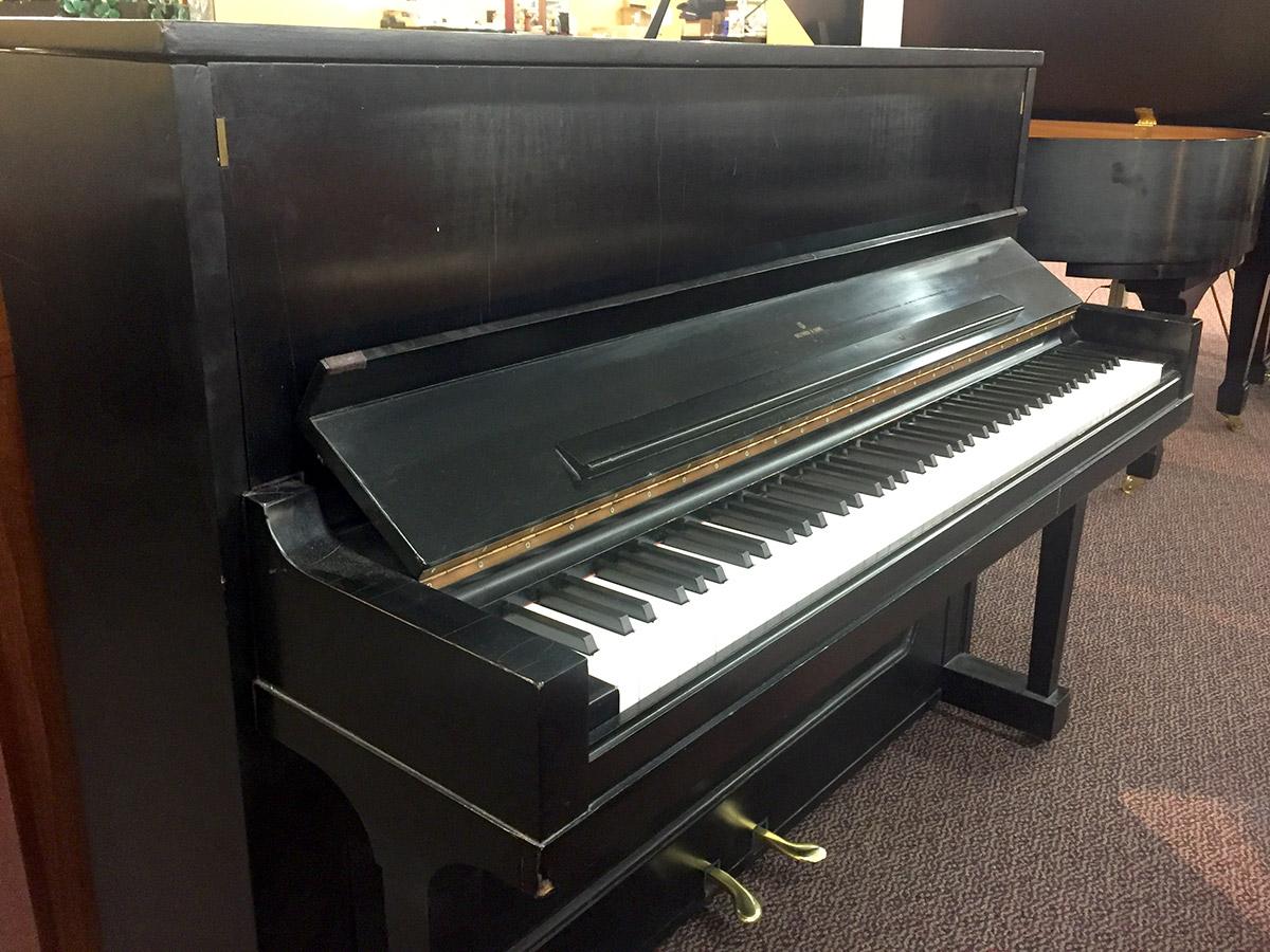 Used Steinway 1098 1966 Ebony Satin Upright Piano