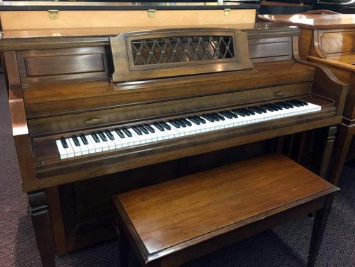 Used Everett 6021 1974 Walnut Upright Piano