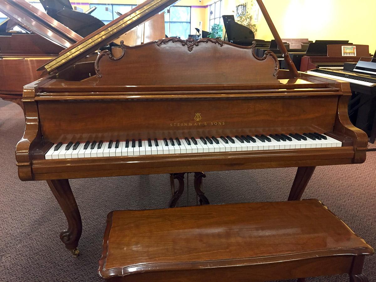 Used Steinway Louis XV 1998 Grand Piano
