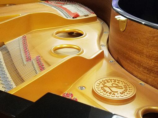 "Used Lyrica CRG-410 4'10"" Ebony Polish Grand Piano"