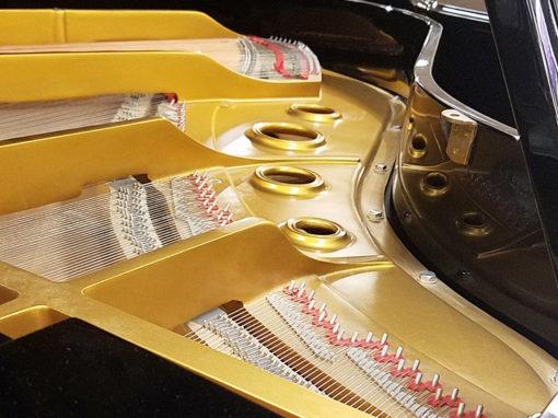 """Used Young Chang G175 5'9"""" Ebony Polish Grand Piano"""