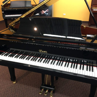 Used Essex EGP-155 Ebony Polish Grand Piano