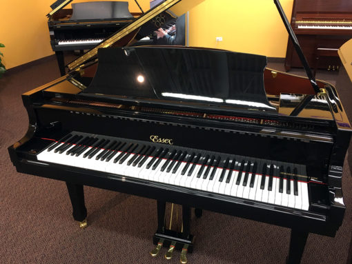 Used Essex EGP-155 Ebony Polish Grand Piano