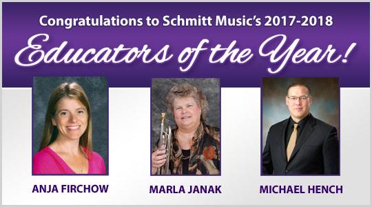 Schmitt Music Educators of the Year: school music directors
