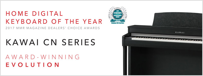 Kawai CN serires: digital home piano of the year