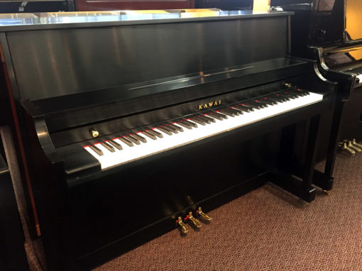 Used Kawai 506N Ebony Satin Upright Piano