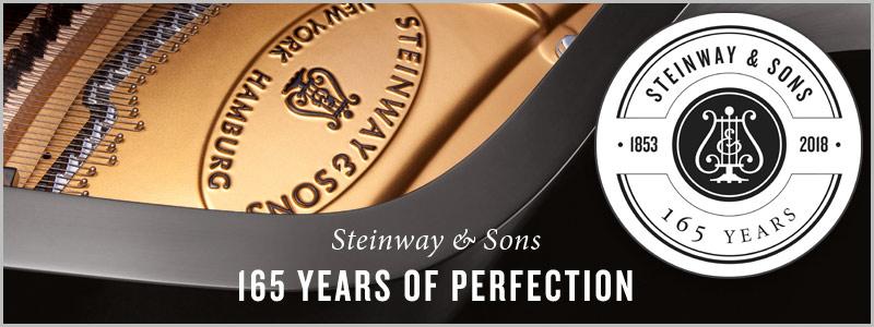 Steinway & Sons 165th Anniversary