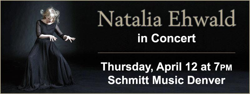 Pianist Natalia Ehwald in Concert at Schmitt Music Denver