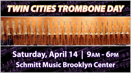 Twin Cities Trombone Day: Saturday April 14 in Brooklyn Center