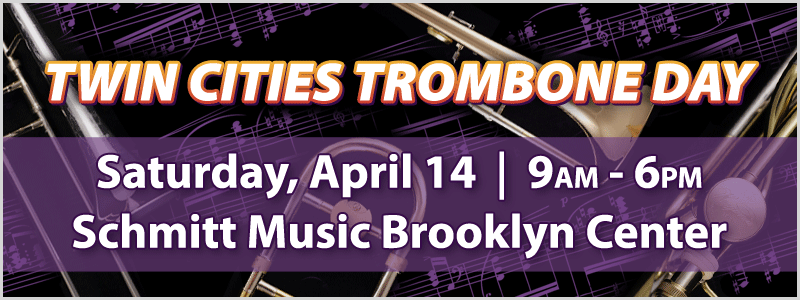 Twin Cities Trombone Day at Schmitt Music Brooklyn Center