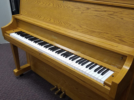 Used Boston U118S Oak Satin Studio Piano