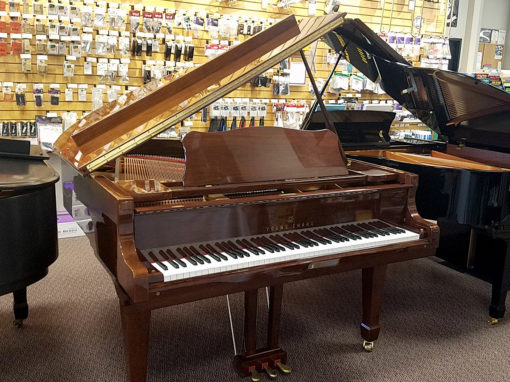 "Used Young Chang G175 5'9"" Walnut Polish Grand Piano"