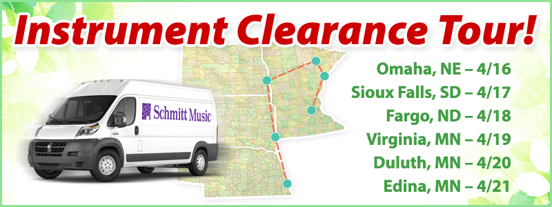 Band & Orchestra Instrument Clearance Tour 2018!