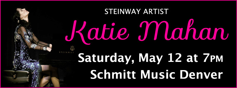 Steinway Artist Katie Mahan in Concert at Schmitt Music Denver