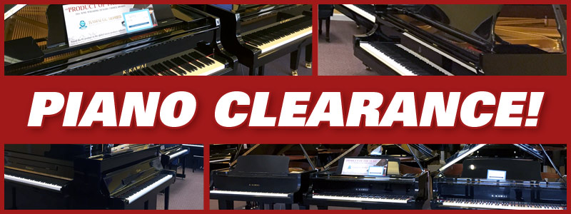 Kansas City Fiscal Year-End Piano Clearance Sale!