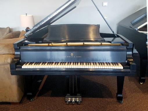Used Steinway Model D Ebony Satin Grand Piano