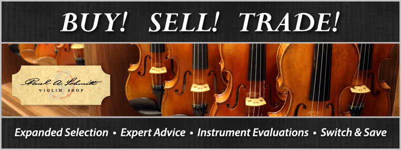 Buy, Sell, Trade Orchestra Instrument event at Schmitt Music Fargo