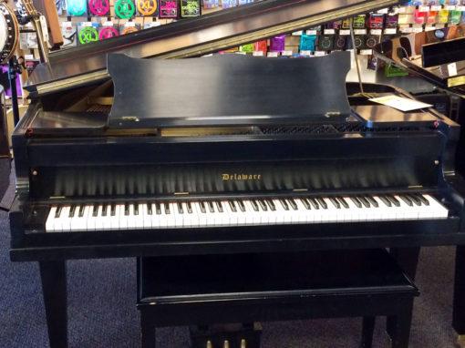 Used Delaware Ebony Satin Baby Grand Piano