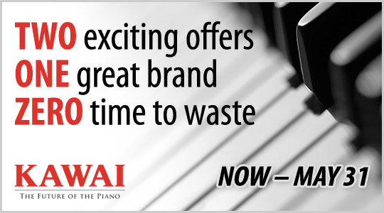 Kawai Piano Financing: two great offers now through May 31