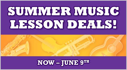 Summer Music Lesson Deals at Schmitt Music stores