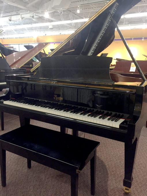 Used Boston GP163 2001 Polished Ebony Grand Piano