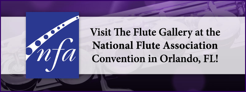 The Flute Gallery at the National Flute Association Convention in Orlando!