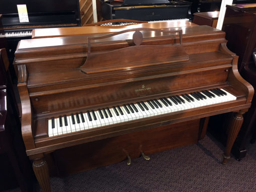 Used Steinway F 1941 Console Piano