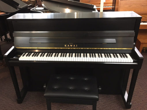 Used Kawai K200 2013 Ebony Satin Upright Piano