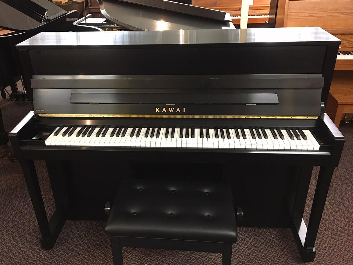 Used Kawai K200 2013 Ebony Satin Upright Piano
