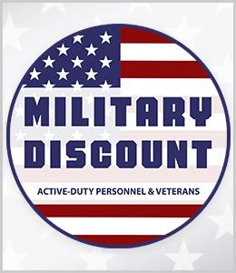 Military Discount offer at Schmitt Music stores