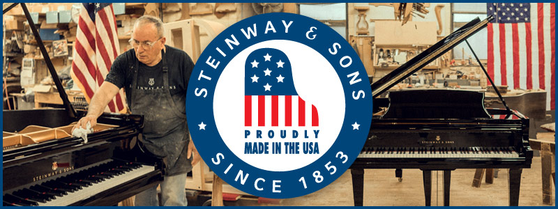Steinway & Sons Made in the USA Savings Event