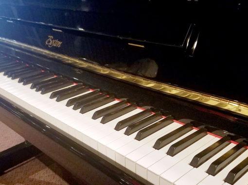 Used Boston UP-132 II Ebony Polish Upright Piano
