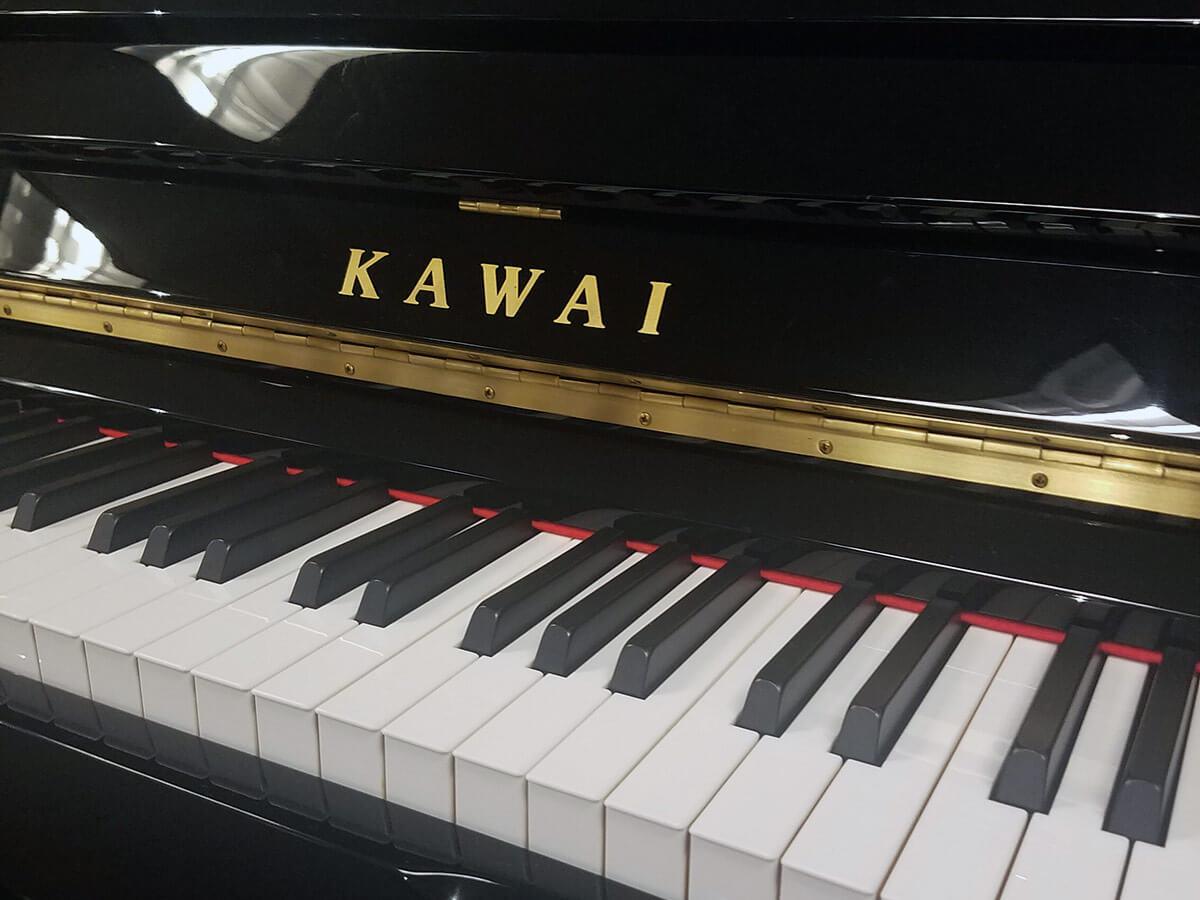 Used Kawai K3 Ebony Polish Upright Piano