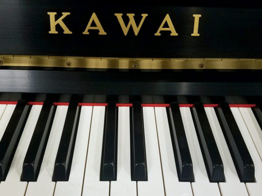 Used Kawai K5 Ebony Satin Upright Piano