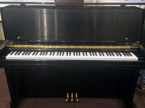 Used Steinway 1098 Ebony Satin Upright Piano
