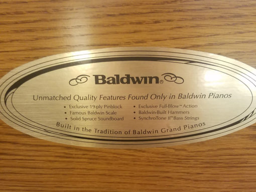 Used Baldwin 5057 Oak Console Piano