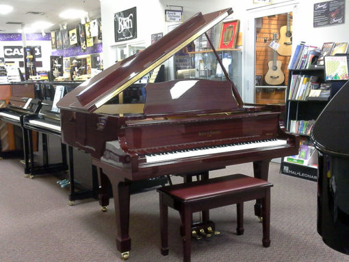 Used Kohler & Campbell 5' Mahogany Polish Baby Grand Piano