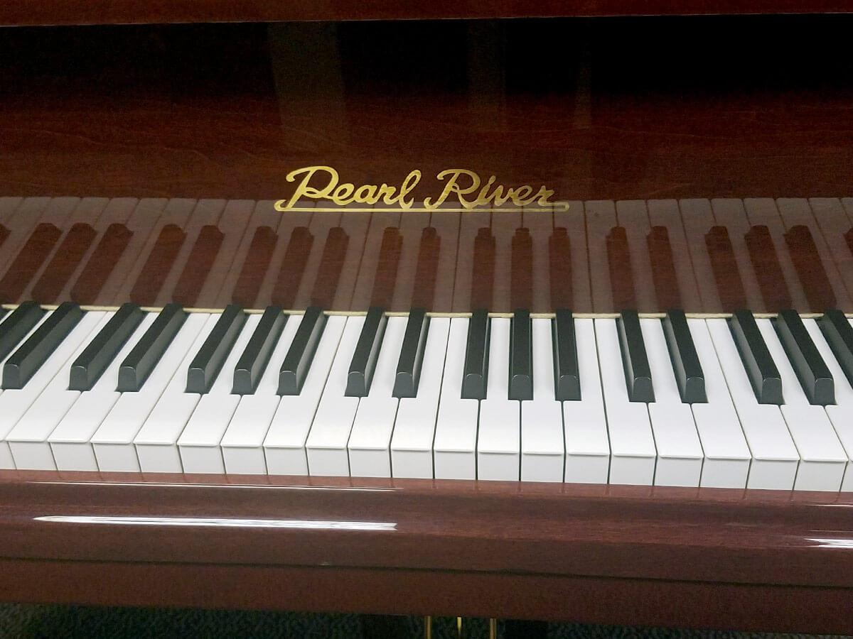 """Used Pearl River GP159 5'3"""" Mahogany Polish Grand Piano"""