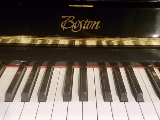 Used Boston UP-132 II Ebony Polish Upright Piano