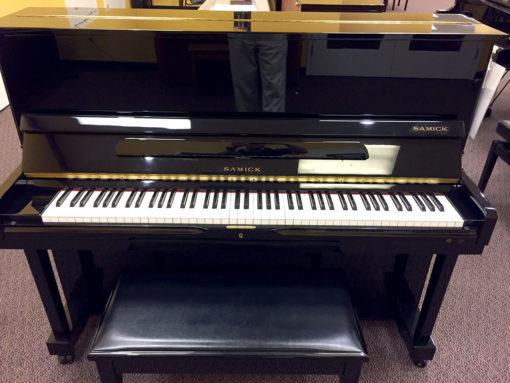 Used Samick Ebony Polish Studio Piano