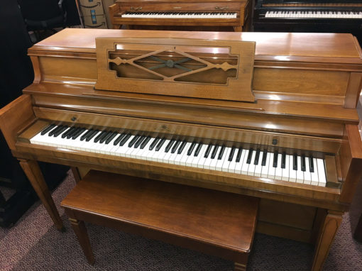 Used Wurlitzer 2740 1967 Walnut Satin Upright Piano