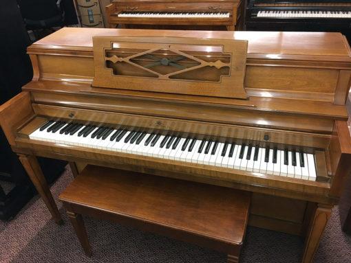 Used Wurlitzer 2740 1967 Walnut Satin Upright Piano