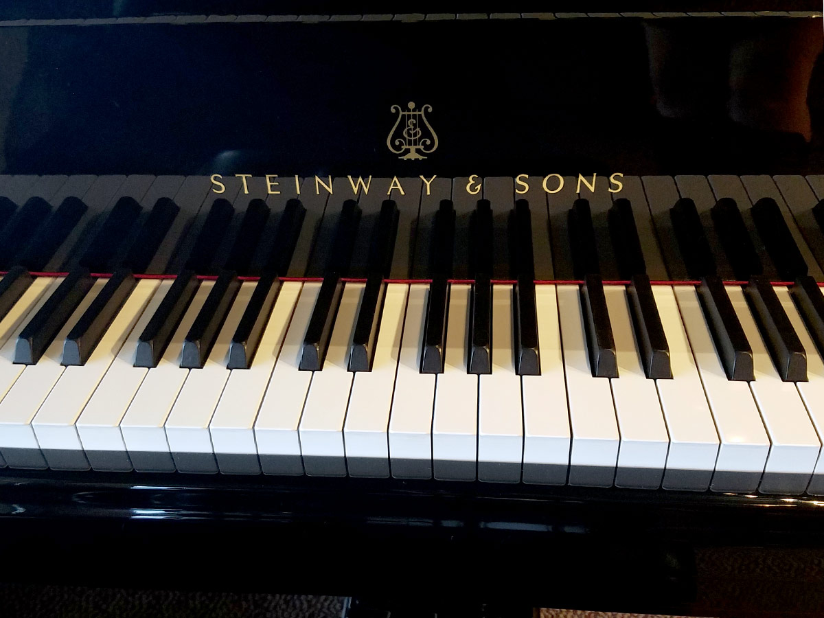 Used Steinway D 9' Ebony Polish Grand Piano