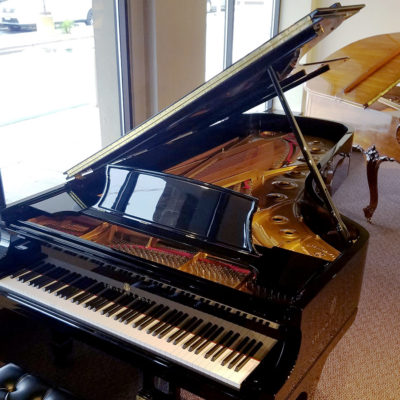 Used Steinway D 9' Ebony Polish Grand Piano