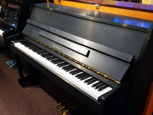 "Used Kawai CE-7 43"" Ebony Satin Upright Piano"