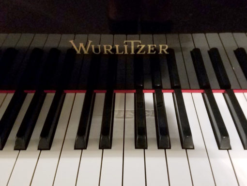 "Used Wurlitzer G-452 5'2"" Ebony Polish Grand Piano"