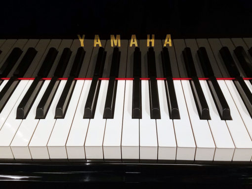 "Used Yamaha GP-1 5'3"" Ebony Polish Grand Piano"