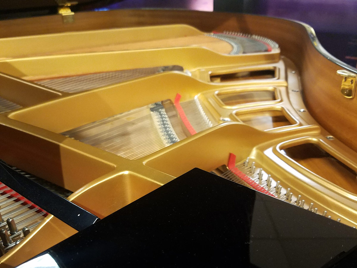 """Used Yamaha GP-1 5'3"""" Ebony Polish Grand Piano"""