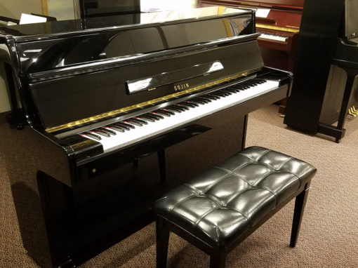 Used Sojin RS-11 Ebony Polish Upright Piano